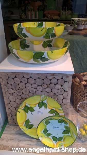 Keramikschalen Thema Zitrone