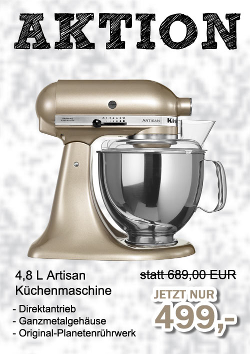KITCHENAID Küchenmaschine ARTISAN5KSM150PSCZR