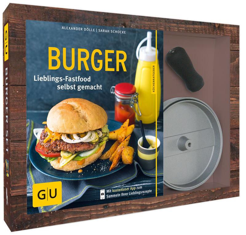 Angebot Burger-Set 14,99 € statt 21,99 €