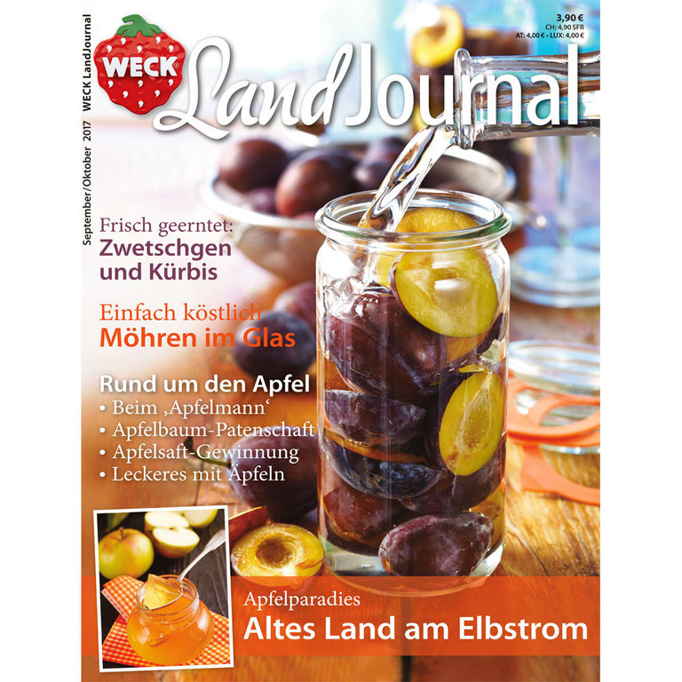 WECK LandJournal September/Oktober 2017 3,90 €